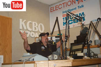 Jack Leary Live on KCBQ